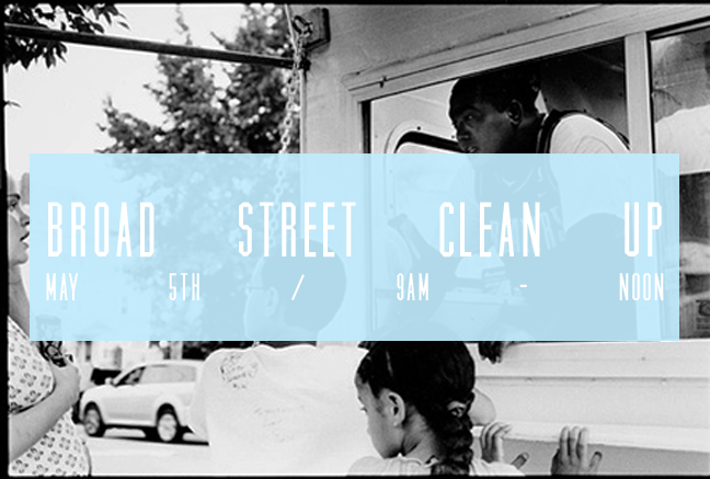 LOVE PROVIDENCE: broad street cleanup, may5th