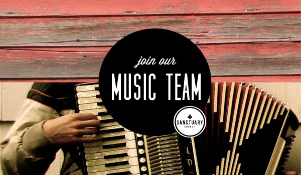 join our music team / gathering