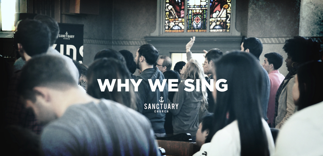 BANNER - why we sing