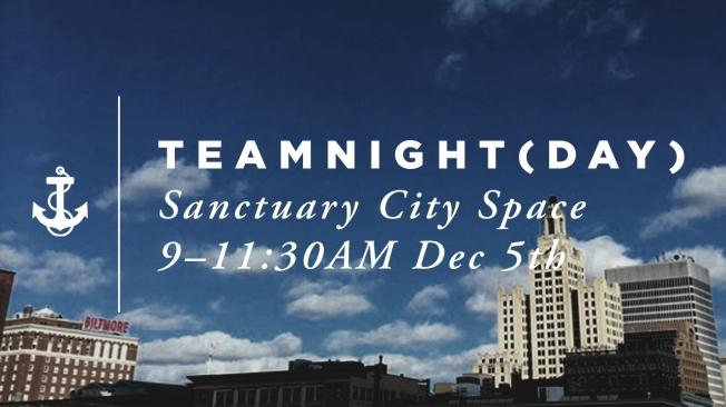 [SLIDE] Team Night 151212