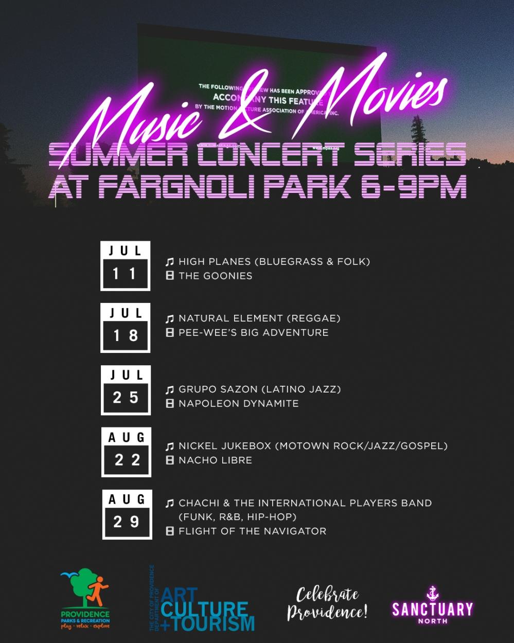 [INSTA] North Music & Movies Lineup